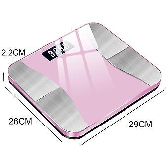 Gerui Bluetooth BFR Scales Smart Digital Scale(Pink)