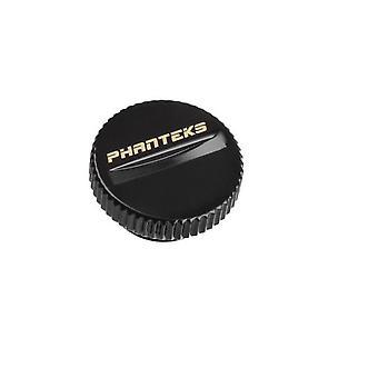 Phanteks Stop-Fittting G1/4 Satin Svart