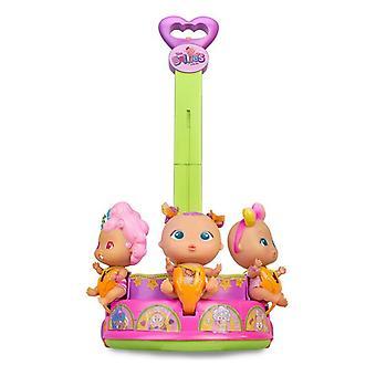 Trolley Coaster The Bellies Famosa Pink/Purple (12 x 30 x 28 cm)