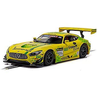 Mercedes AMG GT3 Bathurst 12 Saat 2019 Gruppe M Yarış Scalextric Araba