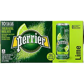 Perrier Water Sprkl Slm Can Lime, Case of 3 X 84.5 Oz