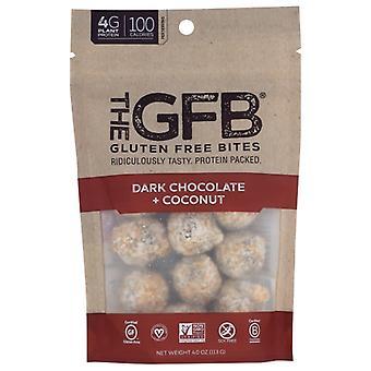 The Gfb Bites Drk Choc Coconut, Case of 6 X 4 Oz