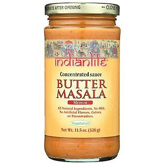 Indianlife Sauce Butter Masala, sag af 6 X 11,5 Oz