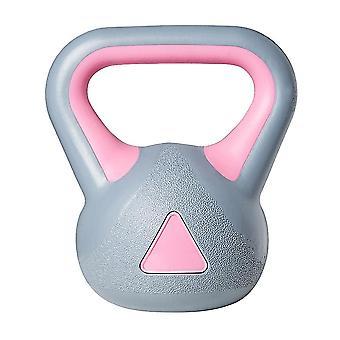 1kpl Kettle-bell Kuntosali Omistettu Kiinteät Kahvakuulot #39;s Fitness Training Arm Lihas Kahvakuulot Liikunta Fitness (harmaa Vaaleanpunainen)