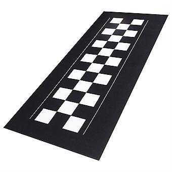 Biketek Motorcycle Garage Mat Series 4 Checker Board 190 x 80 cm