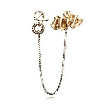 Corsage Exaggerated Claw Ladies Brooch Rhinestone Inlaid Alloy Brooch Pin