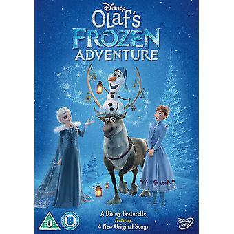 Olafs Frozen Adventure DVD (2018) Kevin Deters cert U Region 2