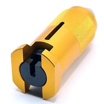 Master ammatillinen lukkoseppä tarvikkeet käsityökalut harjoitella lukko poiminta asettaa kiristysavain rikki avain työkalu yhdistelmä riippulukko kova