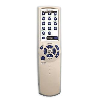 جهاز التحكم عن بعد مناسبة ل Aiwa TV AV SYSTEM الصوت مكبر للصوت طاقة RC-ZAS02 المراقب المالي مشغل دي في دي