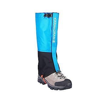 Hiking waterproof tourist legging shoes warmer rackets outdoor camping trekking skiing hunting snake shoe cover