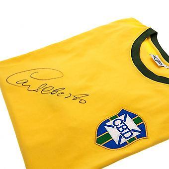 Brasil Alberto Signed Shirt Official Licensed Product