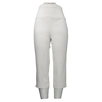 Antthony Women's Pants Boss Lady Tummy Smoothing White 695063