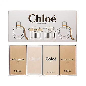 Chloé nomade edp + coffret cadeau 4 x 5ml