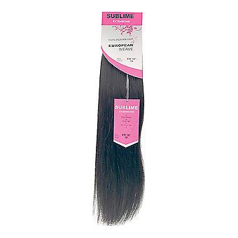 "Haarverlängerungen Extensions European Weave Diamond Girl 18"" Nº 1b"