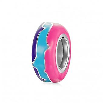 Sterling Silver Stopper Rebellious Colors - 7140