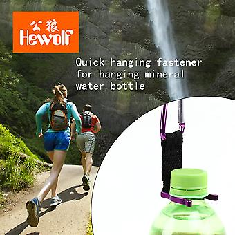 Schnell hängende Schnalle Oxford Stoff Band Wasserflasche Bergsteiger Schnalle