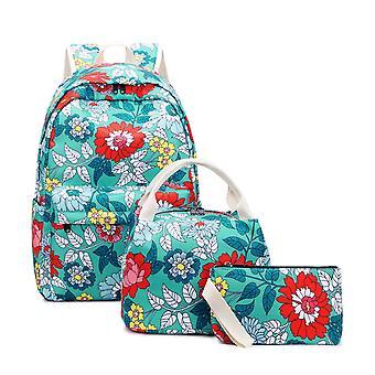 Modèle de fleur 3 dans 1 sac à dos pour des femmes
