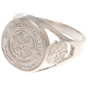 Celtic Sterling Silver Ring Large