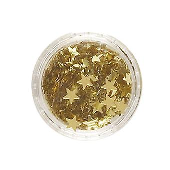 Glitter stele aur