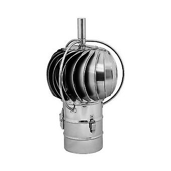 Stainless Steel Rotating Spinning Chimney Cowl External Bearing 150mm 200mm