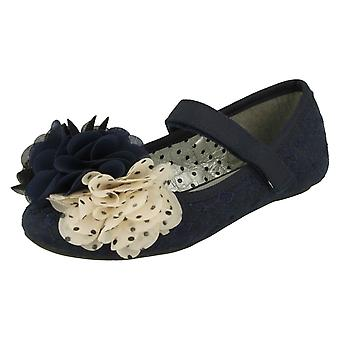 Girls Cutie Flat Party Shoes H2374
