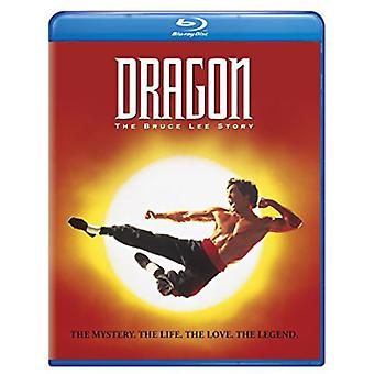 Dragon: Die Bruce Lee Story [BLU-RAY] USA import