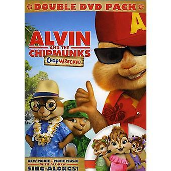 Alvin & die Chipmunks: Chipwrecked 2Pak [DVD] USA Import
