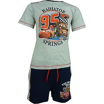 Garçons Disney Carsning McQueen T-shirt & Shorts ensemble