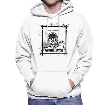 Life is Shiny In The War Boys Mad Max Fury Road Men's Hooded Sweatshirt