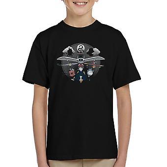 Flight Of The Imagination Studio Ghibli Kid's T-Shirt