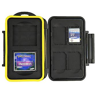 JJC Water Resistant Memory Card Case for 2 x CompactFlash en 4 x SD/SDHC/SDXC kaarten
