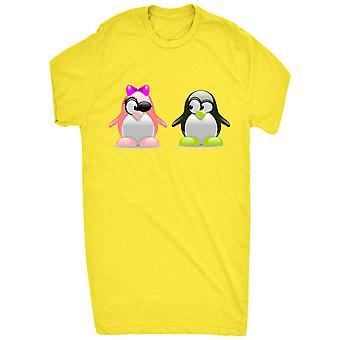 Schattige pinguïns in Love_vectorized voor mannen