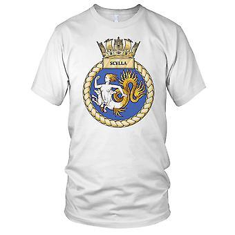 Royal Navy HMS Scylla damer T skjorte