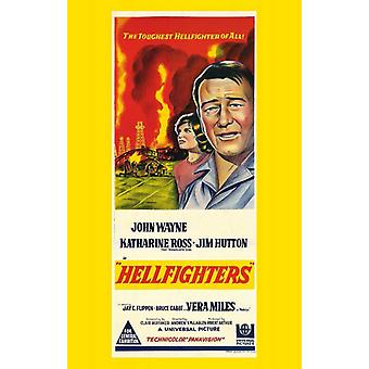 Hellfighters Movie Poster (11 x 17)