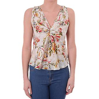 Paul Smith Vintage Womens Silk Floral Top