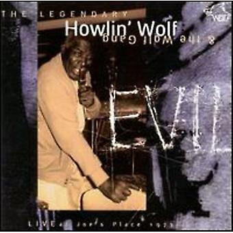 Howlin' Wolf - onda/Live Joe's Place 1973 [CD] USA import