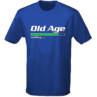 Old Age Loading Father's Day Birthday Mens T-Shirt 10 Colours (S-3XL) by swagwear