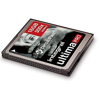 Kiinteä 16Gb UltimaPro High Speed (300 x) CompactFlash-kortti