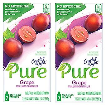 Crystal Light Pure Grape Drink Mix 2 Box Pack
