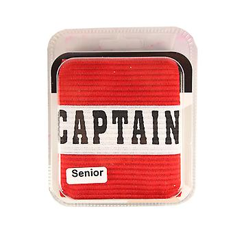 Captains Armband Captain Style Red Senior