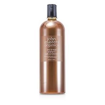 John Masters Organics Zinc & Sage Shampoo With Conditioner - 1035ml/35oz