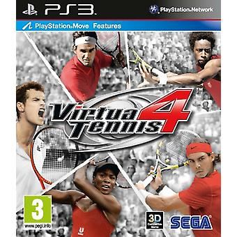 Virtua Tennis 4 (PS3)-fabriken förseglad