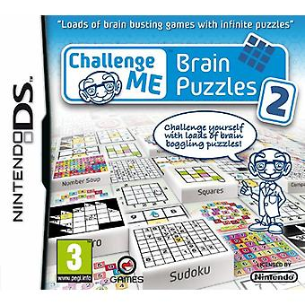 Challenge Me Brain Puzzles 2 (Nintendo DS) - Nouveau