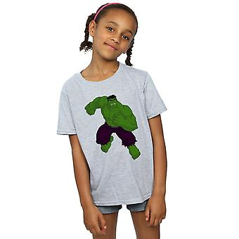 Marvel Hulk Pose T-Shirt für Mädchen
