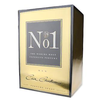Clive Christian 'No.1 voor mannen' parfum Spray 1.6 oz/50 ml nieuw In doos
