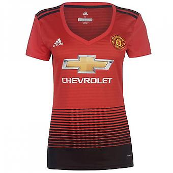 2018-2019 Man Utd Adidas Womens Home Shirt
