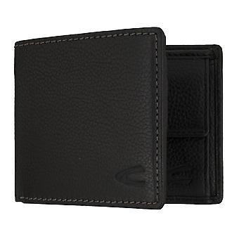 Sac à main camel active mens wallet portefeuille avec puce RFID protection noir 7313