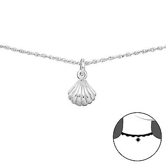 Shell - 925 Sterling Silver Chokers - W34708x