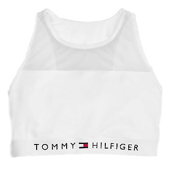 トミー ヒルフィガー綿メッシュ ブラレット - ホワイト