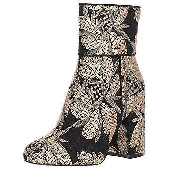 Steve Madden kvinners Goldie Fabric lukket tå mote ankelstøvletter